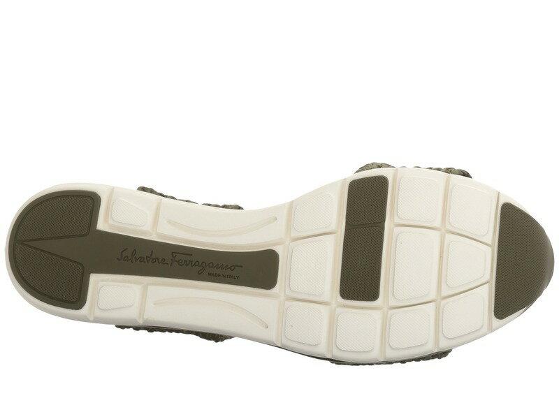 サルヴァトーレ フェラガモ レディース サンダル シューズ Elastic Platform Sandal New Salvia