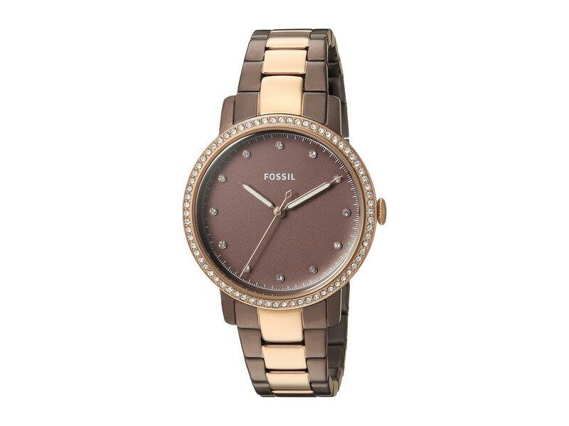 91170e715e3a フォッシル メンズ 腕時計 アクセサリー Neely - ES4300 Brown/Rose Gold 送料無料 サイズ交換無料 フォッシル メンズ  アクセサリー 腕時計 Brown/Rose Gold