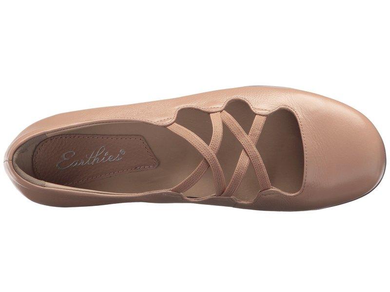 アース レディース サンダル シューズ Clare Earthies Blush Premium Tumbled Leather