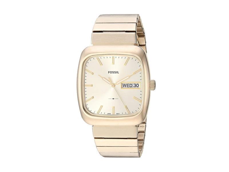 フォッシル メンズ 腕時計 アクセサリー Rutherford - FS5411 Gold