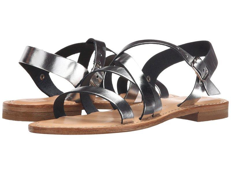 ホワイトマウンテン レディース サンダル シューズ Elissia Silver Leather