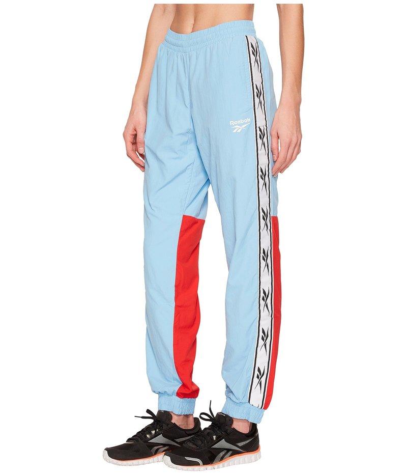 リーボック レディース カジュアルパンツ ボトムス Classics Woven Track Pants Blue/White