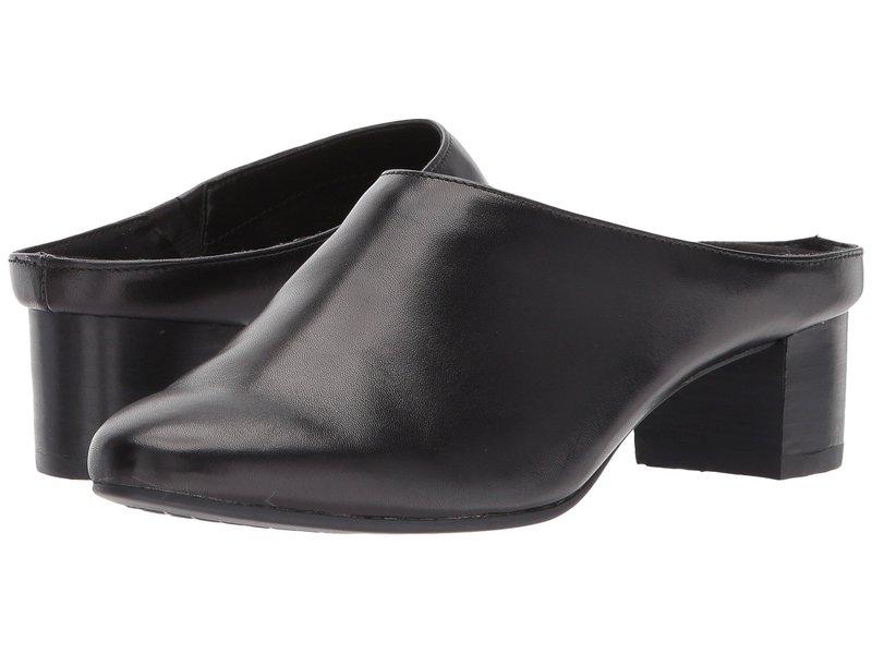 エアロソールズ レディース サンダル シューズ Crash Pad Black Leather