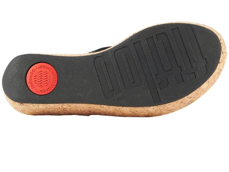 フィットフロップ レディース サンダル シューズ Linny Toe Thong Sandals Black