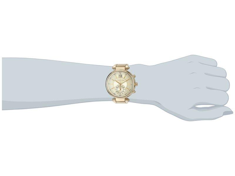マイケルコース レディース 腕時計 アクセサリー MK6362 - Sawyer Gold