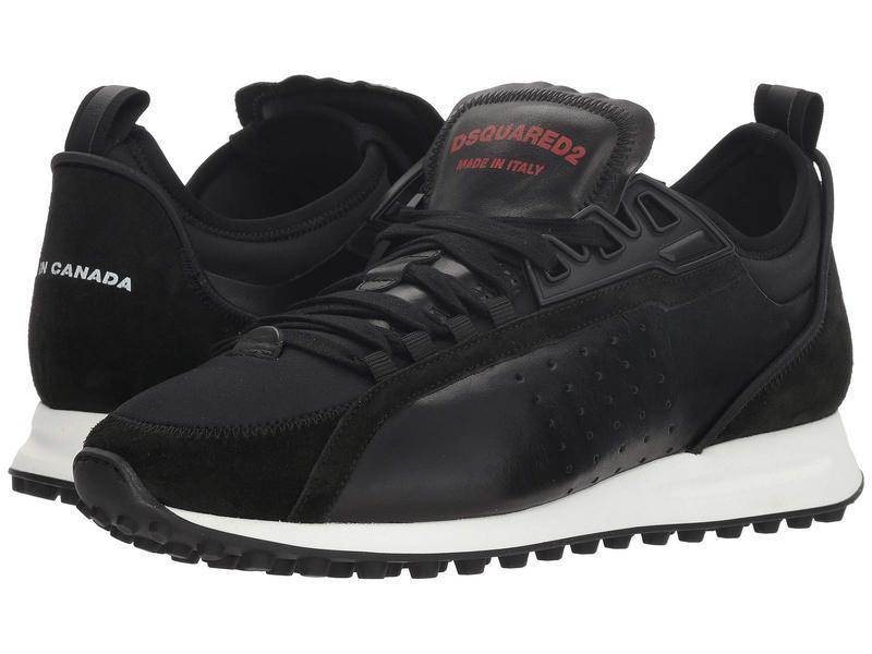 ディースクエアード メンズ スニーカー シューズ Neoprene Runner Sneaker Black