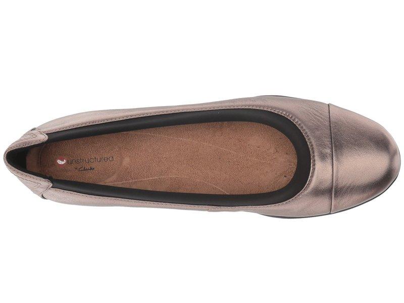 クラークス レディース サンダル シューズ Neenah Garden Pebble Metallic Leather