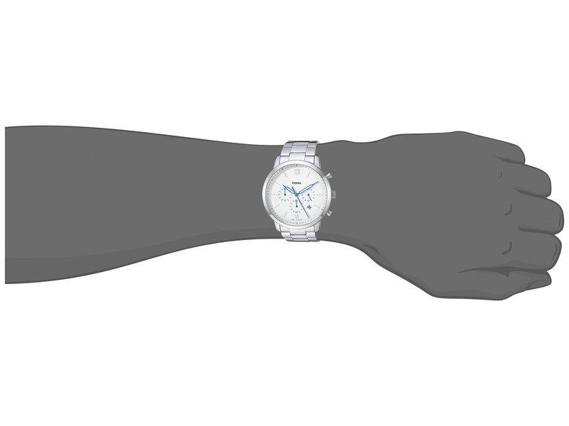 フォッシル メンズ 腕時計 アクセサリー Neutra Chrono - FS5433 Silver