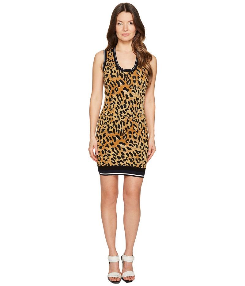 ディースクエアード レディース ワンピース トップス Animal Tank Dress Cheetah Print