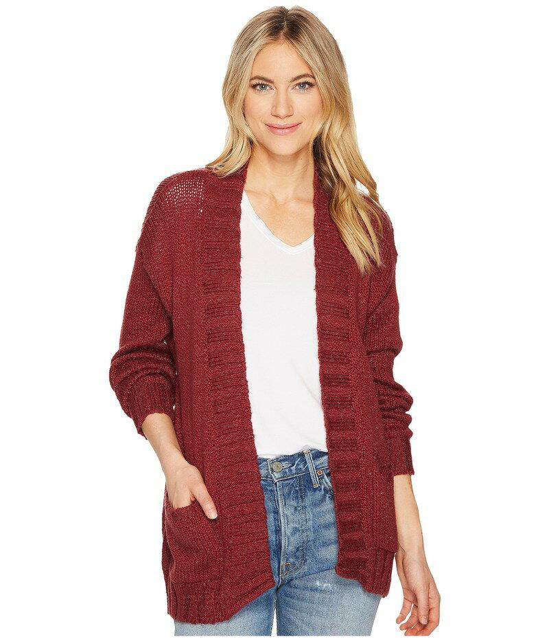 04b1105d9f17bb ビラボン レディース ニット・セーター アウター Luna Day Cardigan Scarlet 送料無料 サイズ交換無料 ビラボン レディース  アウター ニット・セーター Scarlet
