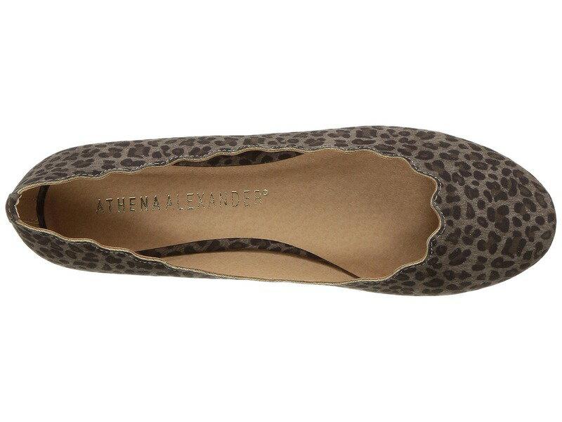 アセナアレキサンダー レディース サンダル シューズ Toffy Black Leopard Fabric