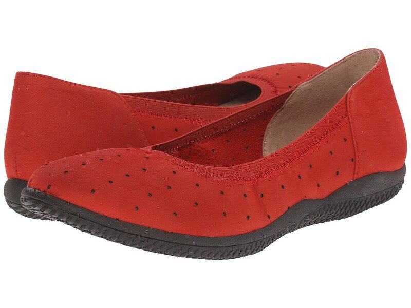 ソフトウォーク レディース サンダル シューズ Hampshire Red Nubuck Leather