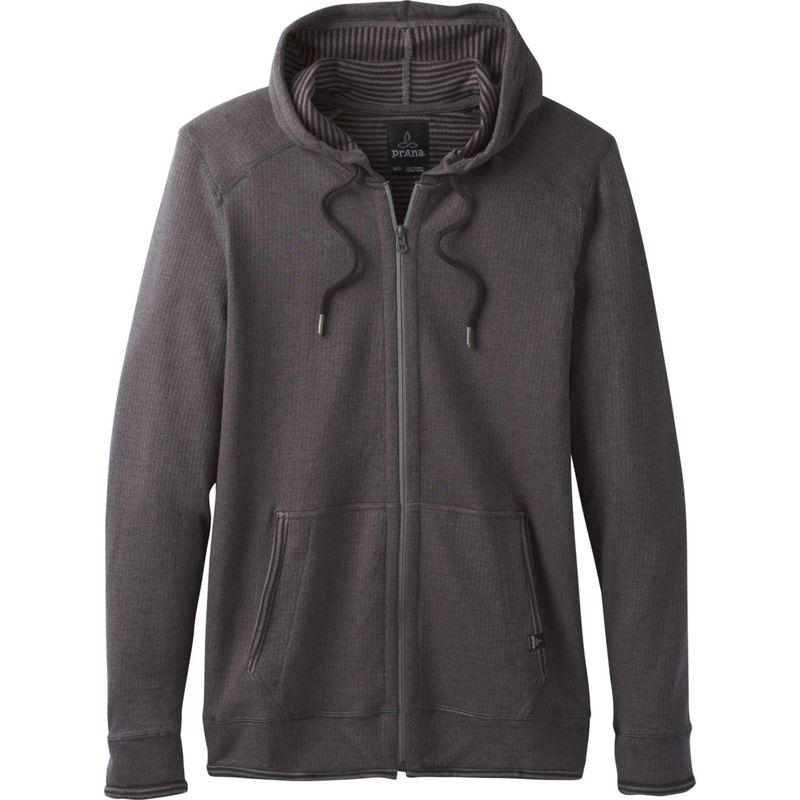 プラーナ メンズ ジャケット・ブルゾン アウター Smith Full Zip Jacket XS - Gravel