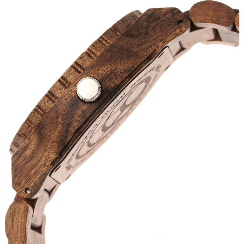 アースウッド メンズ 腕時計 アクセサリー Bonsai Bracelet Watch Dark Brown