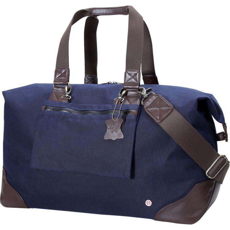 トーケン メンズ スーツケース バッグ Lafayette Waxed Duffel Bag Navy