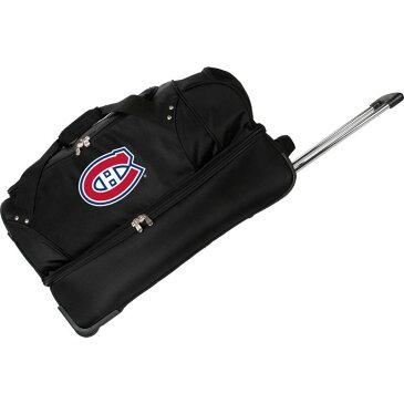 デンコスポーツ メンズ スーツケース バッグ NHL 27 Drop Bottom Wheeled Duffel Bag Montreal Canadians