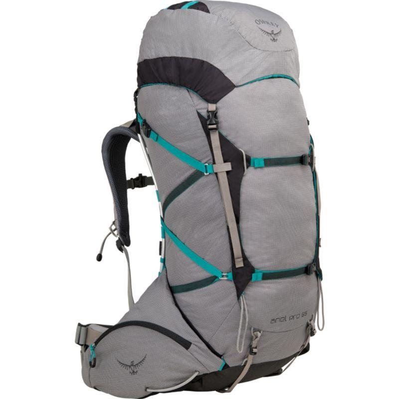 オスプレー メンズ バックパック・リュックサック バッグ Ariel Pro 65 Hiking Backpack Voyager Grey  SM