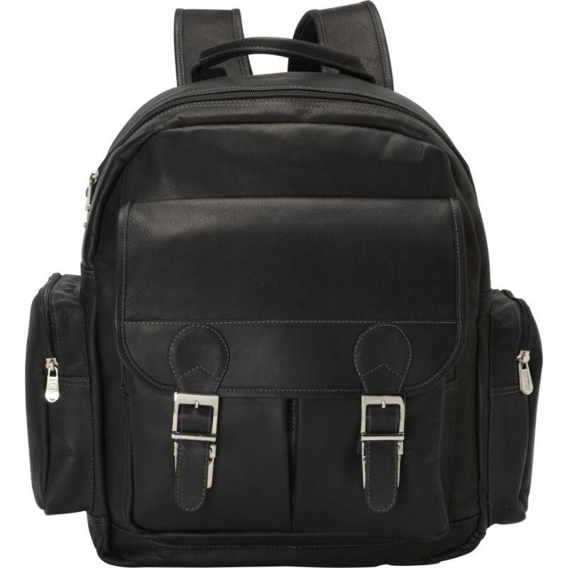 ピエール メンズ スーツケース バッグ Ultimate Travelers Laptop Backpack Black