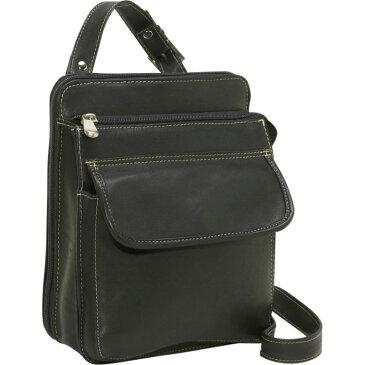 ルドネレザー メンズ ボディバッグ・ウエストポーチ バッグ Organizer Bag Black