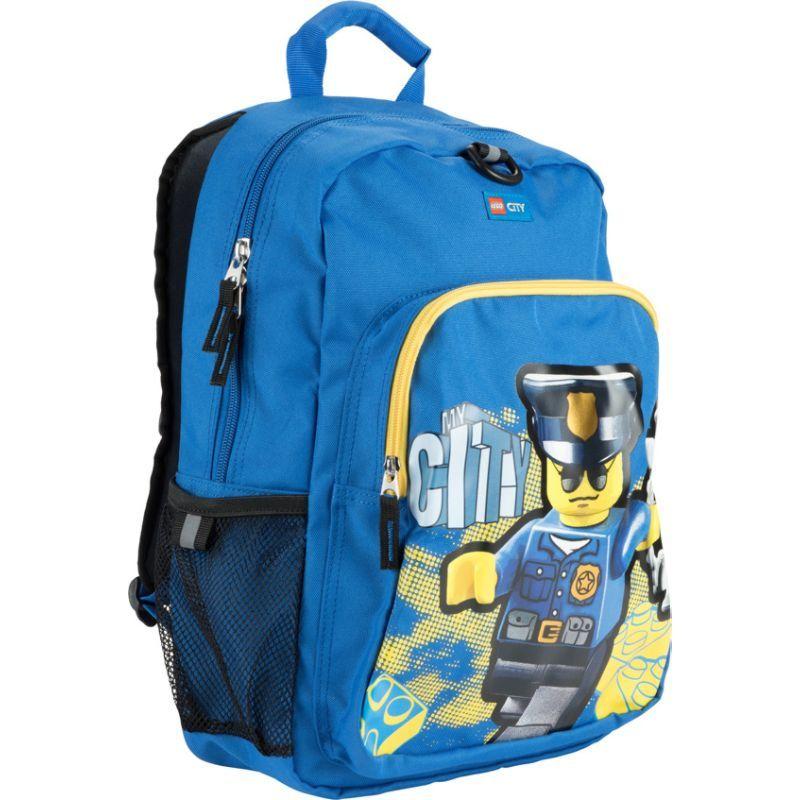 5cd579eae11b レゴ メンズ バックパック・リュックサック バッグ City Police Heritage Classic Backpack Blue 送料無料  サイズ交換無料 レゴ メンズ バッグ バックパック・リュック ...