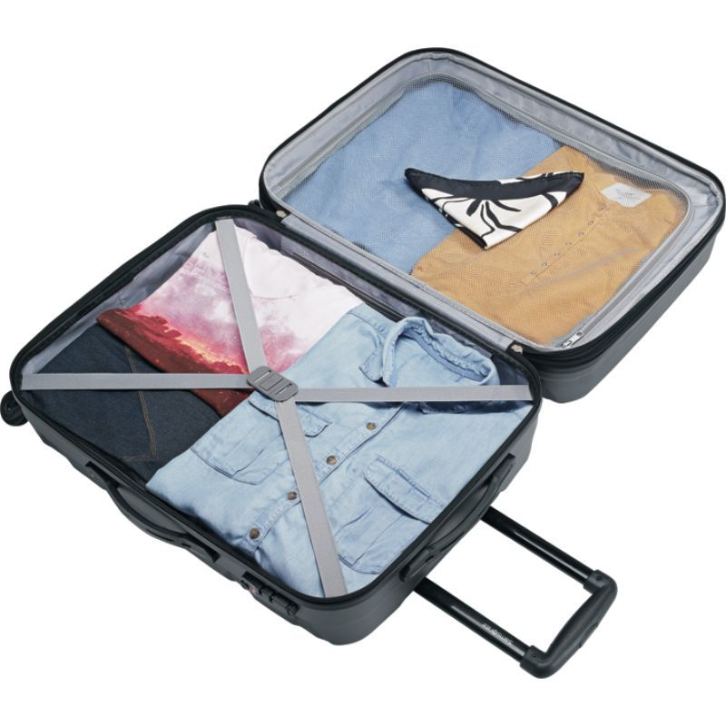 サムソナイト メンズ スーツケース バッグ Omni PC Hardside Spinner 28 Caribbean Blue