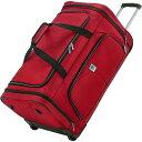 タイタンバッグス メンズ スーツケース バッグ Nonstop Multifunctional 27.5 Rolling Duffel Travelbag Red