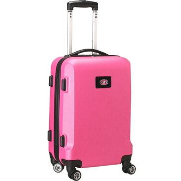 デンコスポーツ メンズ スーツケース バッグ NHL 20 Domestic Carry-On Pink Montreal Canadians