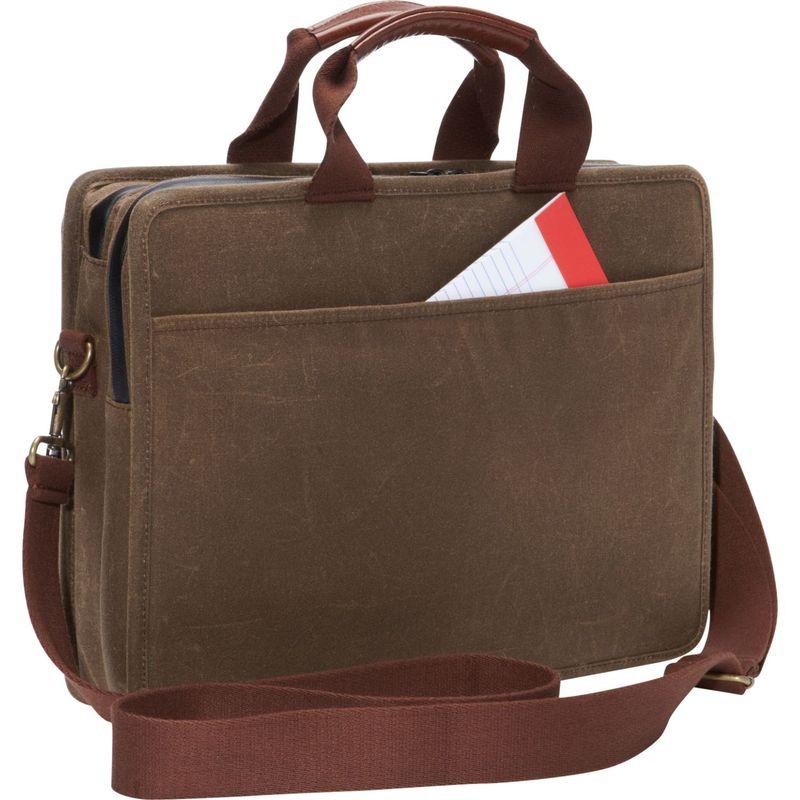 トーケン メンズ スーツケース バッグ Waxed Hewes Briefcase Black