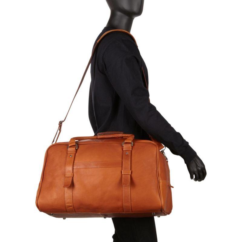 ピエール メンズ スーツケース バッグ Large Top-Zip Duffel Bag Chocolate
