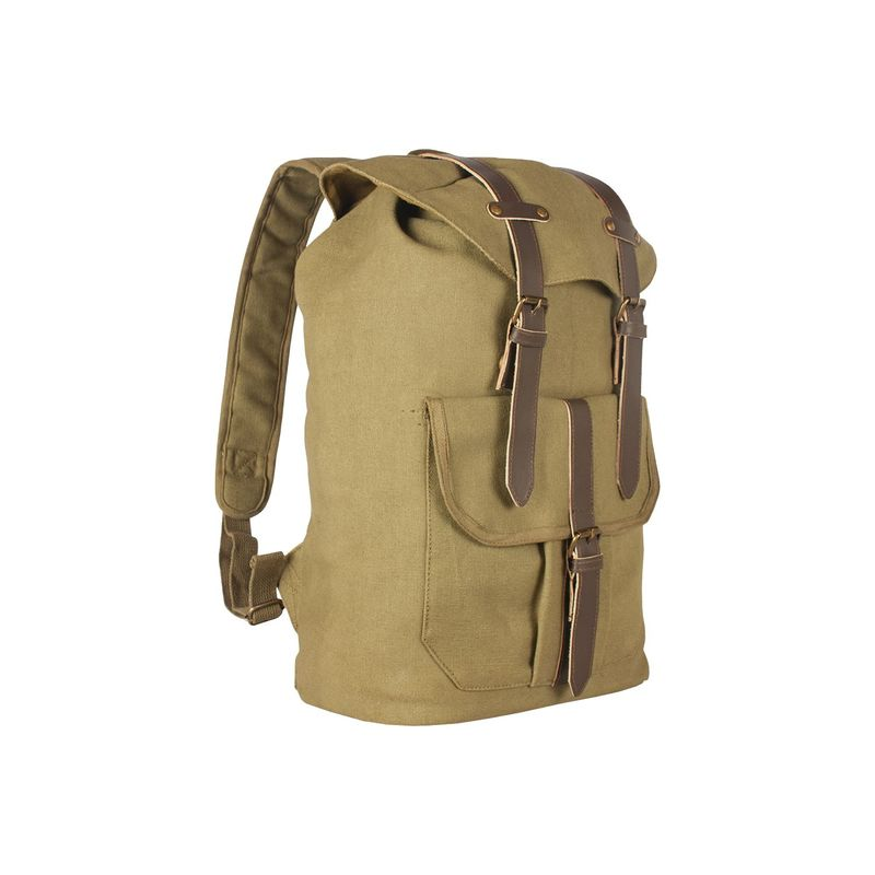 456429f341f5 フォックスアウトドア メンズ バックパック·リュックサック バッグ レディース Retro Madridian Rucksack Dr.Martens  Olive UNDER ARMOUR Brown:ReVida 店 送料無料 ...