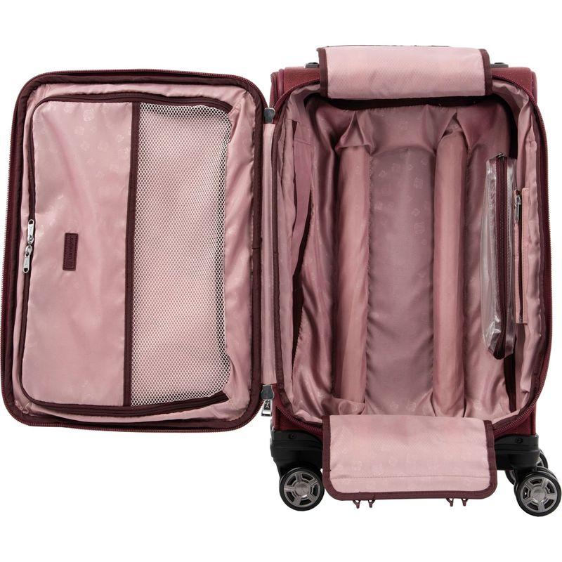 トラベルプロ メンズ スーツケース バッグ Platinum Elite 21 Expandable Carry-On Spinner Rich Expresso