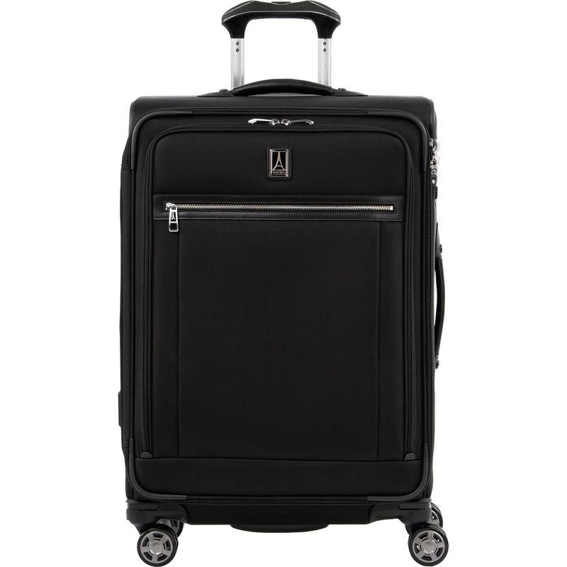 トラベルプロ メンズ スーツケース バッグ Platinum Elite 25 Expandable Spinner Shadow Black