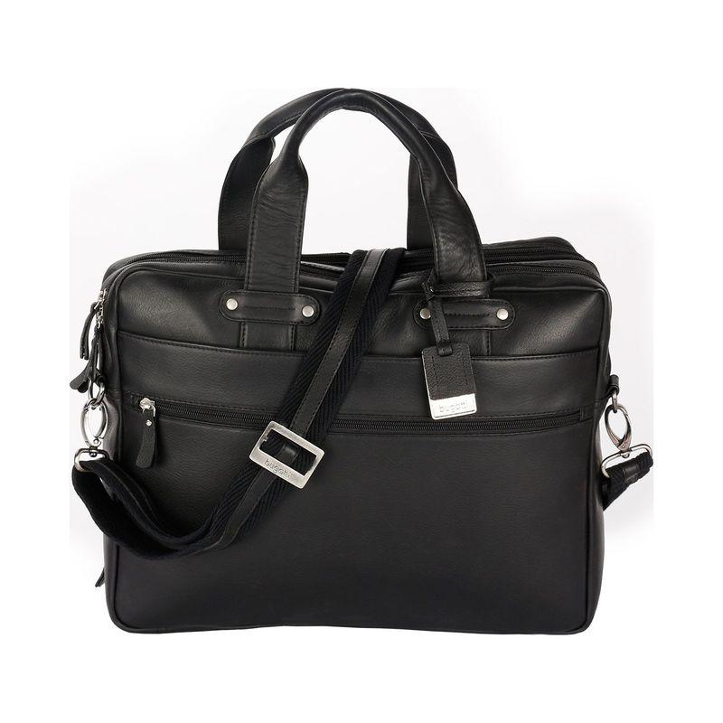 ブガッティ メンズ スーツケース バッグ Pereira Executive Briefcase Leather Black