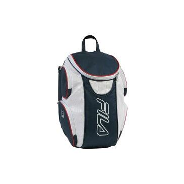 フィラ メンズ ボストンバッグ バッグ Ultimate Tennis Backpack with Shoe Pocket Red/White/Blue