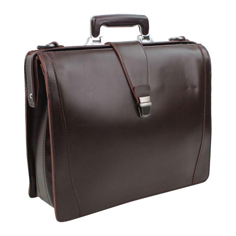 ヴァガボンドトラベラー メンズ スーツケース バッグ Classic Full Grain Leather Business Pro Case Wine Red