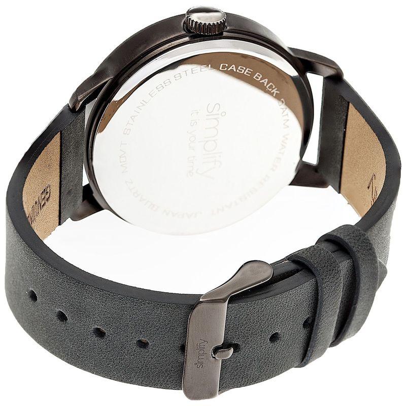 シンプリファイ メンズ 腕時計 アクセサリー The 4200 Unisex Watch Plum