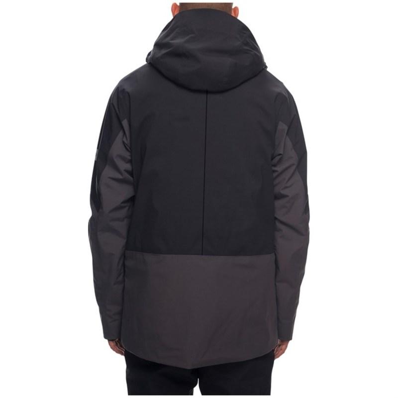 シックスエイトシックス メンズ ジャケット・ブルゾン アウター Stretch GORE-TEX? Zone Thermagraph? Jacket Charcoal Colorblock