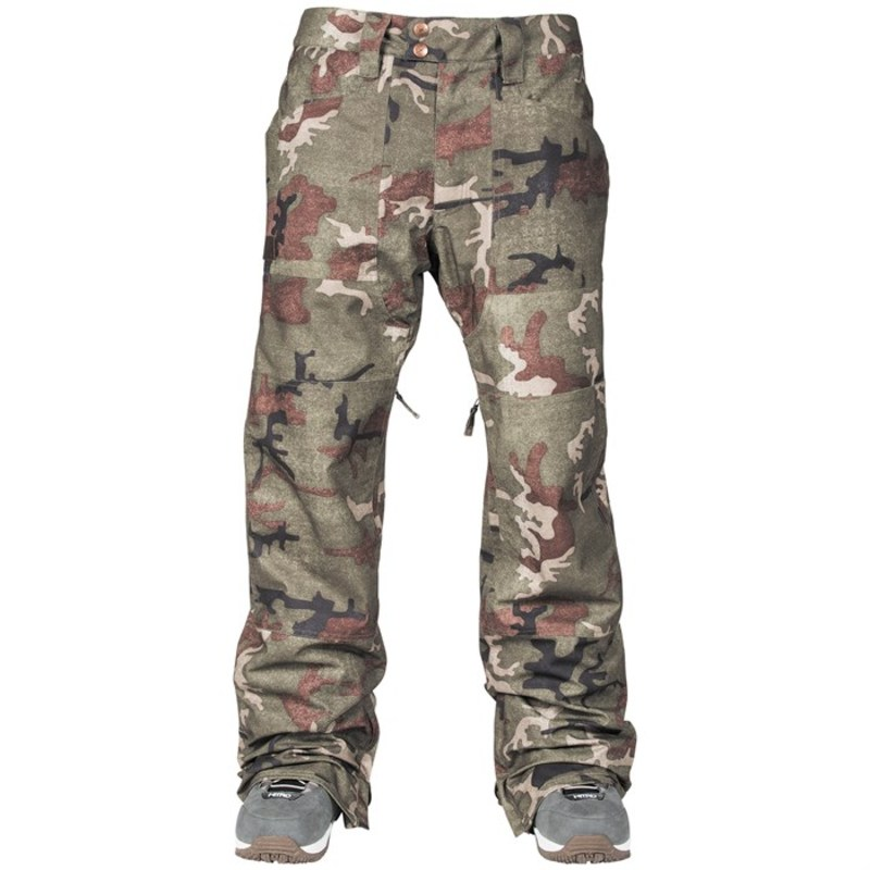 L1 メンズ カジュアルパンツ ボトムス L1 Americana Pants Vintage Camo