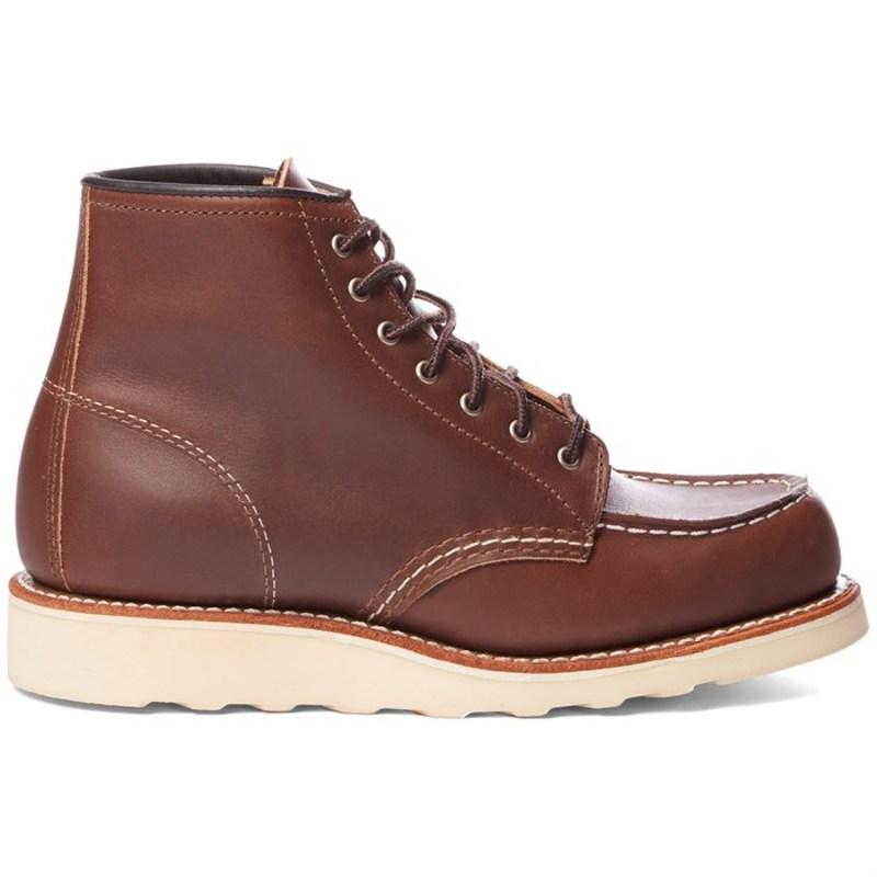 レッドウィング レディース ブーツ・レインブーツ シューズ Red Wing 6-Inch Classic Moc Boots - Women's Mahogany Oro-Iginal Leather
