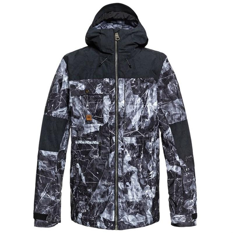 クイックシルバー メンズ ジャケット・ブルゾン アウター Quiksilver Arrow Wood Jacket Tannenbaum Black