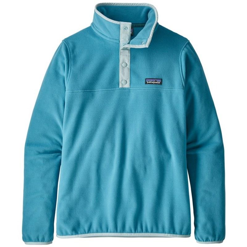 パタゴニア レディース パーカー・スウェット アウター Patagonia Micro D Snap-T Pullover - Women's Mako Blue
