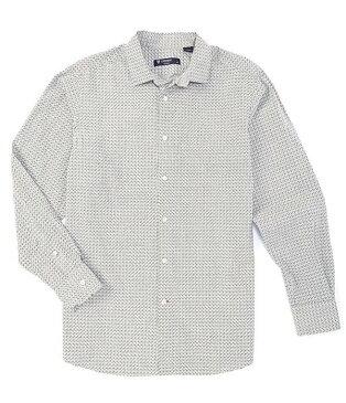 ダニエル クレミュ メンズ シャツ トップス Dot Print Long-Sleeve Woven Shirt Grey Heather