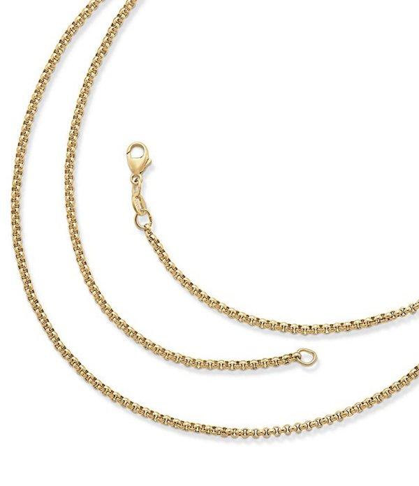 レディースジュエリー・アクセサリー, ネックレス・ペンダント  Medium Rolo Chain Gold