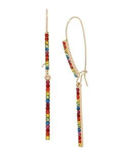 ベッツィジョンソン レディース ピアス・イヤリング アクセサリー Rainbow Stone Long Drop Earrings Rainbow