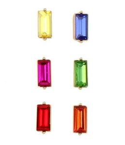 ベッツィジョンソン レディース ピアス・イヤリング アクセサリー Rainbow Stone Single Stud Earring Set Rainbow