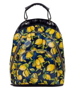 パトリシアナシュ レディース バックパック・リュックサック バッグ Positano Limon Print Collection Alencon Backpack Positano Limon