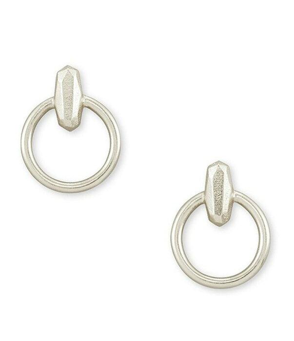 ケンドラスコット レディース ピアス・イヤリング アクセサリー Lola Mini Hoop Earrings Rhodium Plated