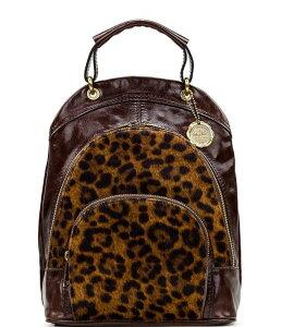 パトリシアナシュ レディース バックパック・リュックサック バッグ Leopard Collection Alencon Backpack Leopard