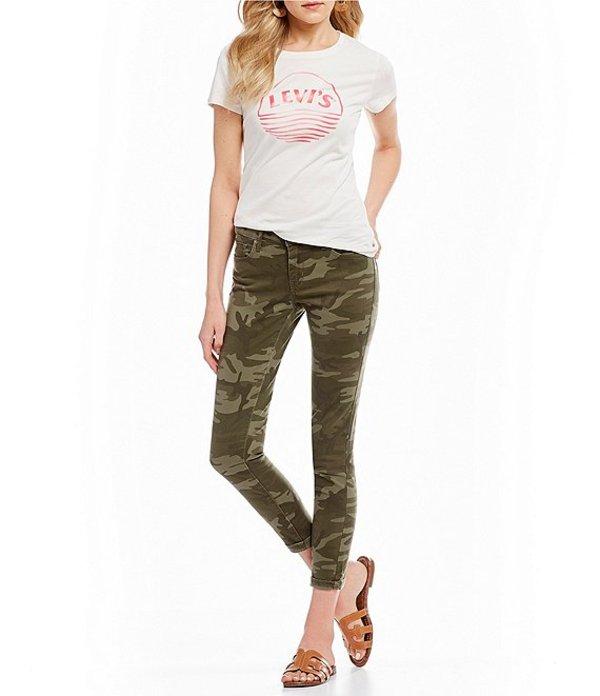 リーバイス レディース デニムパンツ ボトムス Levi'sR 711 Camo Crop Ankle Skinny Jeans Camo