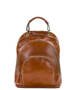 パトリシアナシュ レディース バックパック・リュックサック バッグ Heritage Collection Alencon Top Handle Backpack Tan